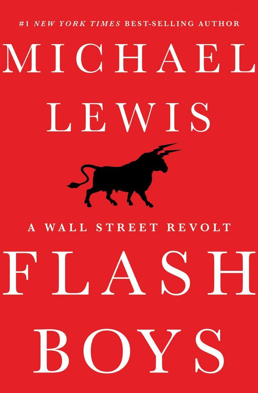 Flash Boys پرفروش ترین کتاب مالی در سال 2014