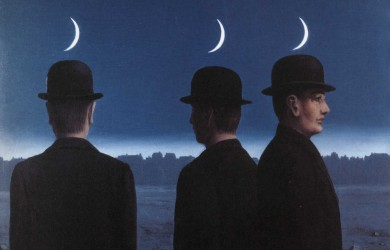 The masterpiece or the mysteries of the horizon - Artist: Rene Magritte
