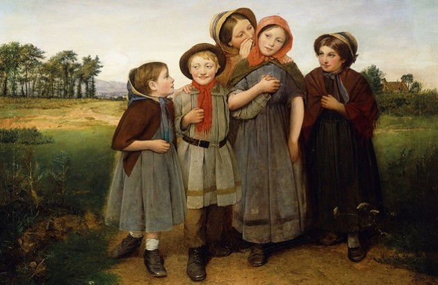 «راز». اثر ویلیام فردریک ویدرینگتون. ۱۸۵۵