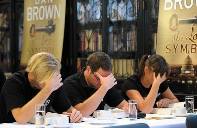 تندخوانان استرالیایی رمان «نماد گمشده» دن براون را در همان روز اول چاپ در سال ۲۰۰۹ از اول تا آخر خواندند.