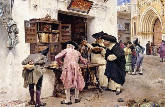 کتابباز، ۱۸۷۹، اثر لوئیس خیمنس آراندا.