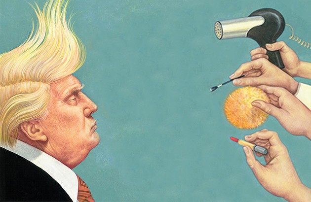 ژورنالیسم زرد، رئیسجمهور نارنجی