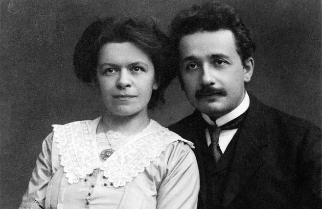 میلوا ماریچ آینشتاین و شوهرش، ۱۹۱۲. برگرفته از آرشیو دانشگاه ای.تی.اچ زوریخ.