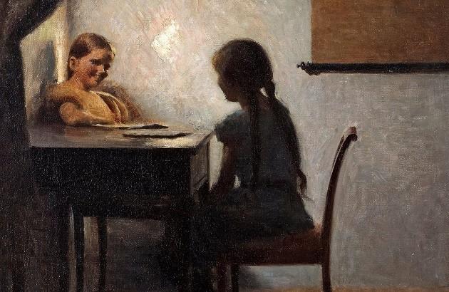 اثر پیتر ایلستد. ۱۹۰۴. منبع: ایان