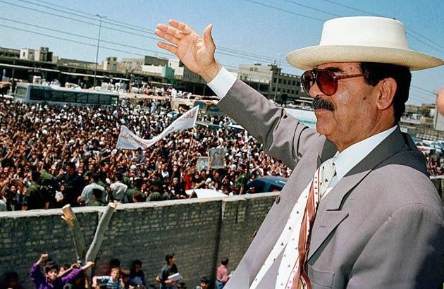 کمدی بازجویی از صدام حسین
