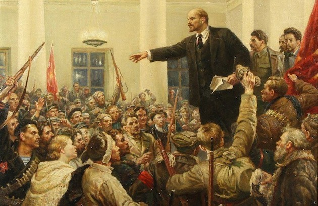 نسخهٔ صوتی: عشق لنین به ادبیاتْ انقلاب روسیه را شکل داد