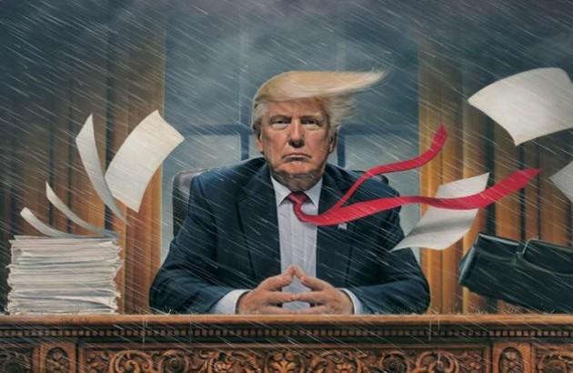 تنهایی دونالد ترامپ