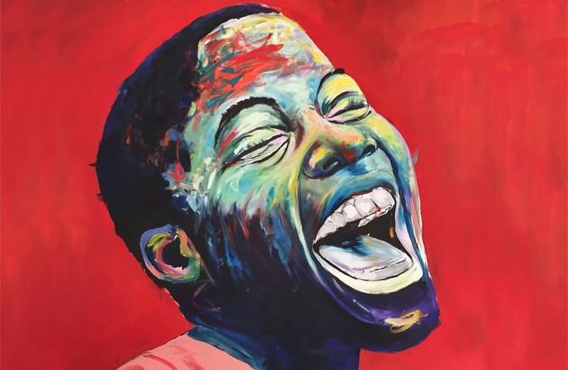 نقاش: نلسون ماکومو.