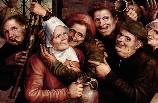 نقاش: یان متسیس. موزۀ توماس هنری، فرانسه. 1562.