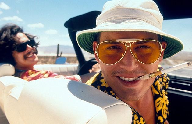 جانی دپ در فیلم «ترس و نفرت در لاسوگاس»، ۱۹۹۸.