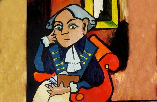 ایمانوئل کانت. نقاش: رنه یورگنسن بولینگر.