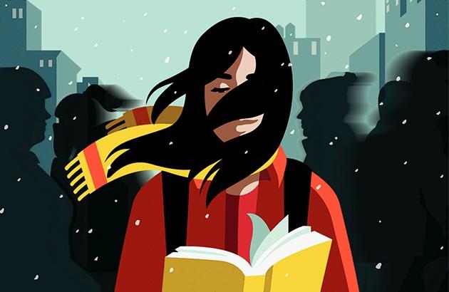 تصویر جلد شمارۀ ژانویۀ ۲۰۱۹ مجلۀ نیویورکر. تصویرساز: آنا پرینی.