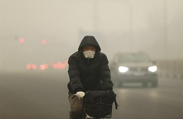نفسکشیدن در عصر آلودگی هوا