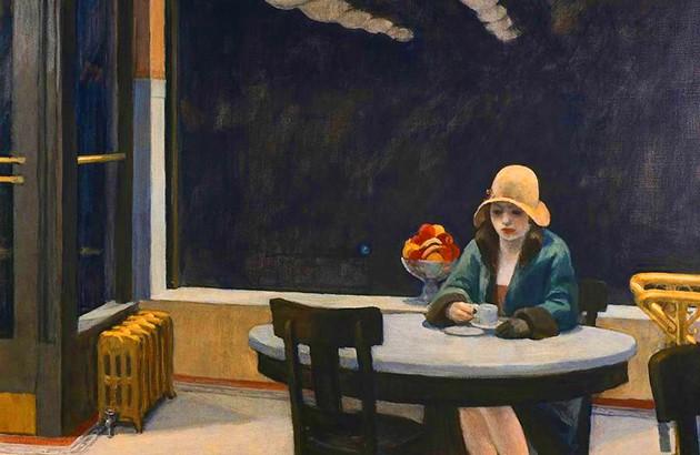 اتومات. نقاش: ادوارد هوپر.